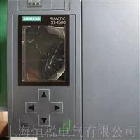 西门子CPU控制器1500通电小屏幕无显示维修