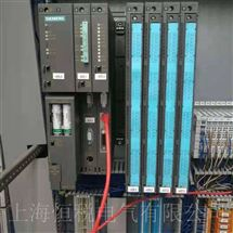 SIEMENS售后维修西门子PLC400模块CP443指示灯全亮修复解决