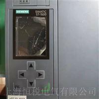 西门子PLC1500控制器上电启动无反应修复