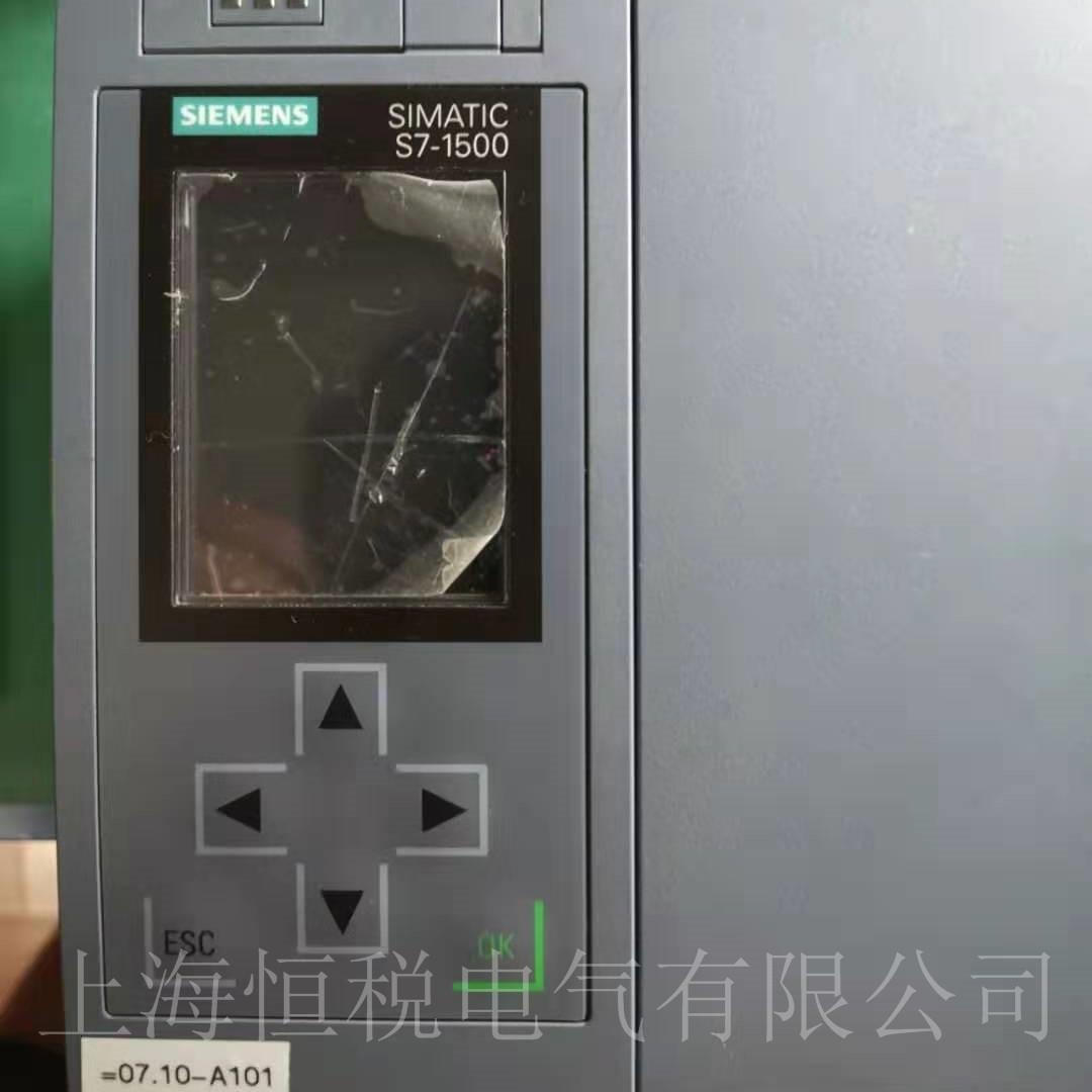 西门子PLC1517-3启动面板黑屏不亮修理解决