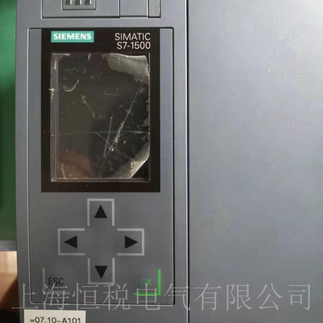 西门子PLC1517-3上电启动面板无显示修复
