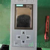 西门子S7-1500控制器启动小屏幕不亮修理