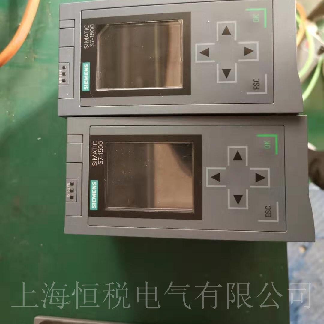 西门子CPU1517-3启动面板黑屏不亮维修中心