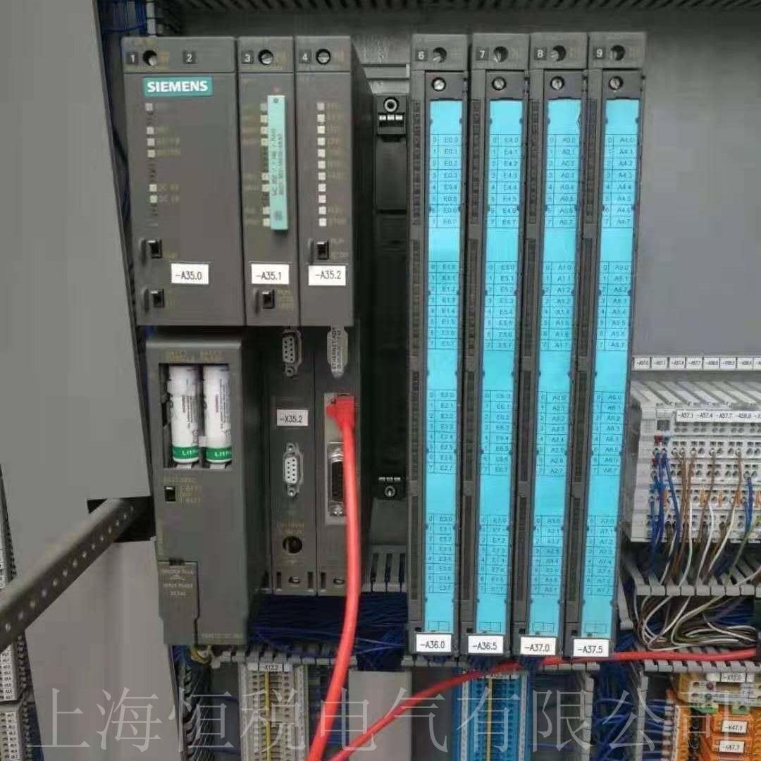 西门子400CPU模块启动指示灯全部闪烁维修