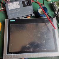 西门子显示屏启动卡在开机画面不动维修解决