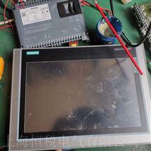 SIEMENS售后维修西门子显示屏开机黑屏无显示修理解决方法