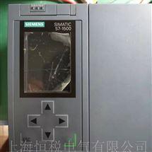 S7-1500PLC修理专家西门子S7-1500CPU主机启动面板黑屏解决方法