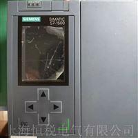 西门子S7-1516PLC启动面板显示白屏画面修理