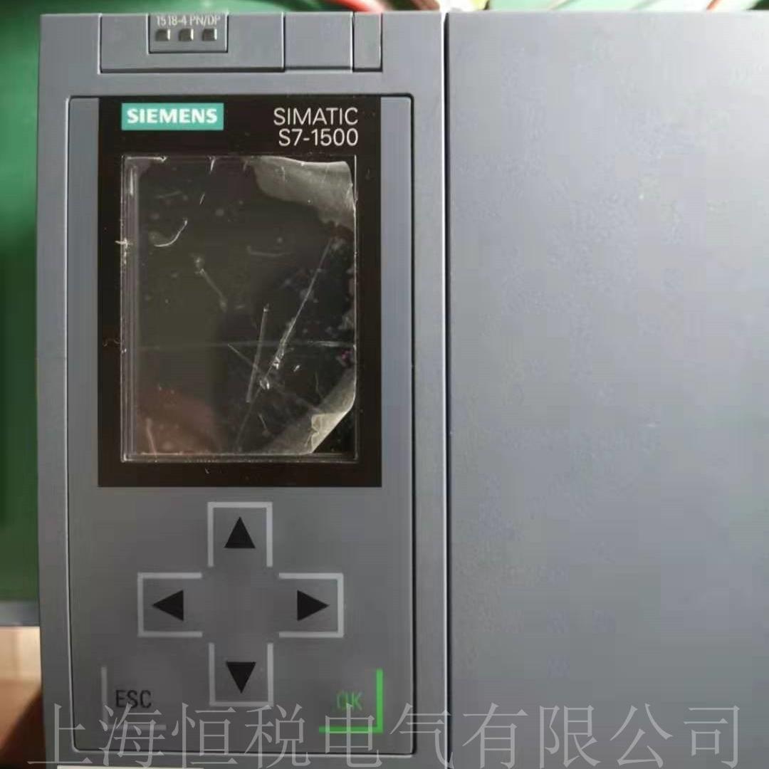 西门子PLC1515上电面板黑屏无显示维修方法