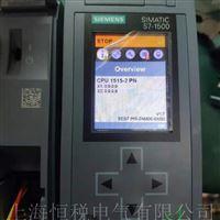 西门子PLC1516控制器启动面板黑屏维修方法
