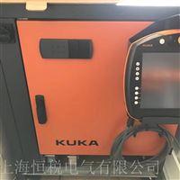 KUKA机器人示教器开机进不去系统维修
