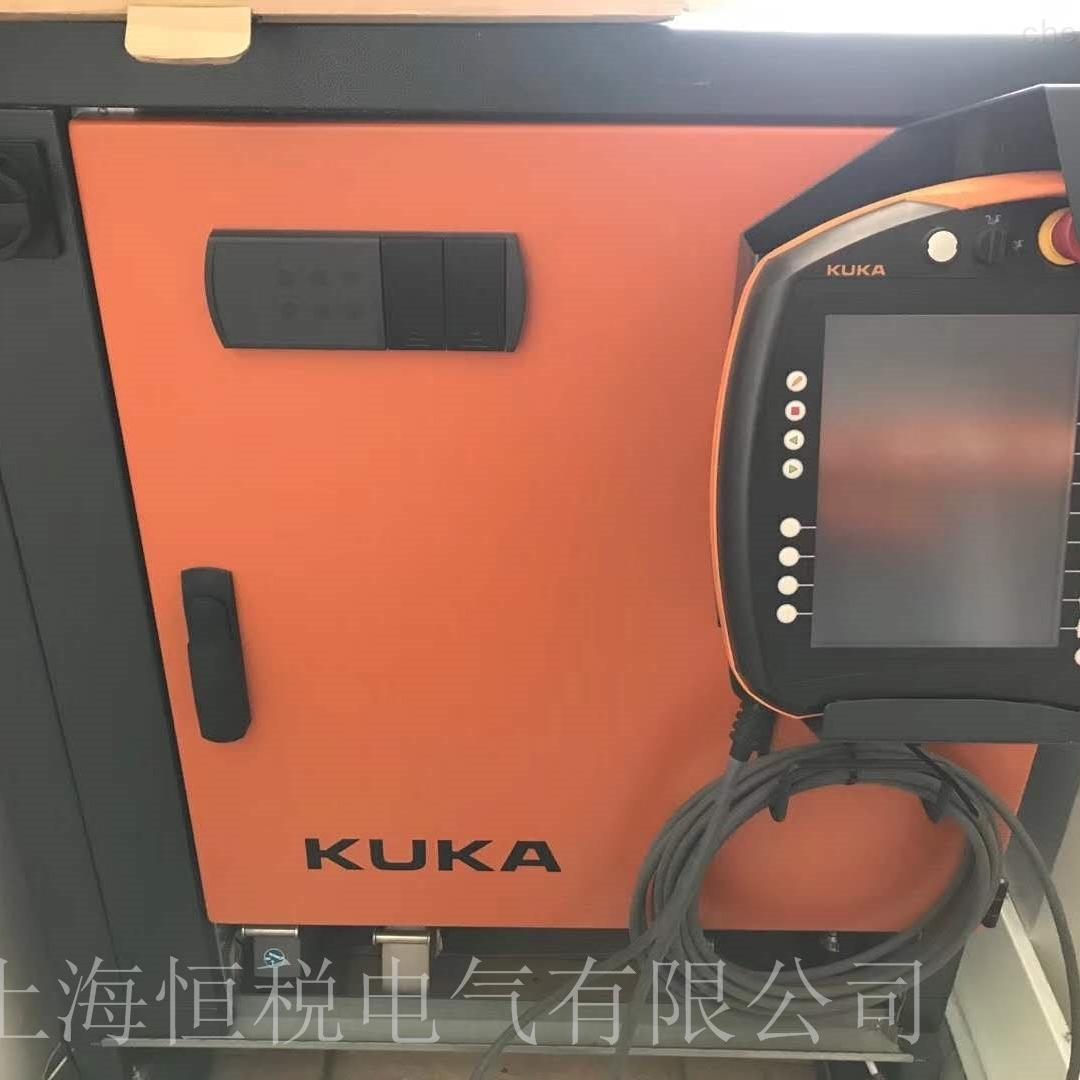 KUKA机器人示教器触摸无反应触摸不灵修复