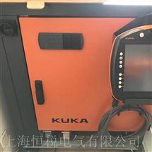 KUKA现场维修KUKA机器人KRC4示教器开机显示黑屏维修技巧