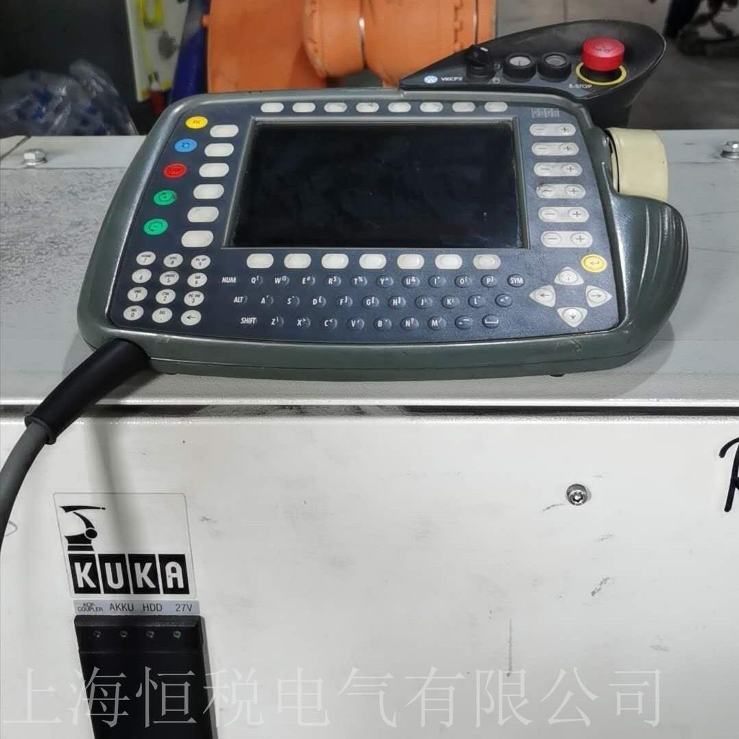 KUKA机器人KRC4示教器启动黑屏无显示修复