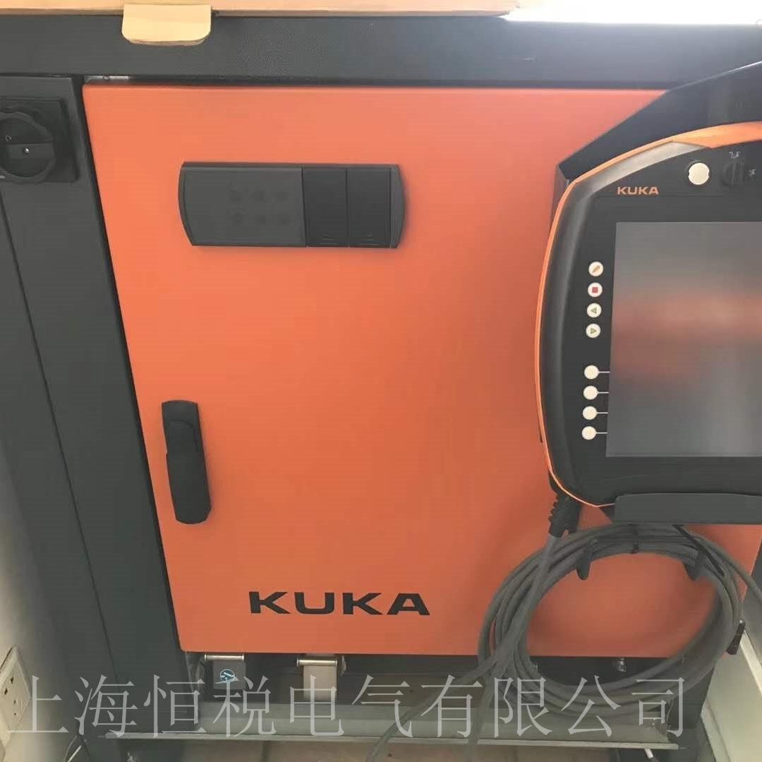 KUKA机器人KRC4示教器显示花屏/闪屏维修