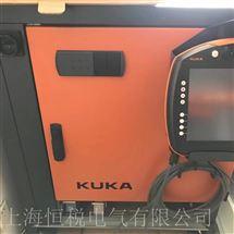 KUKA一天修好KUKA机器人KRC4示教器显示花屏/闪屏维修