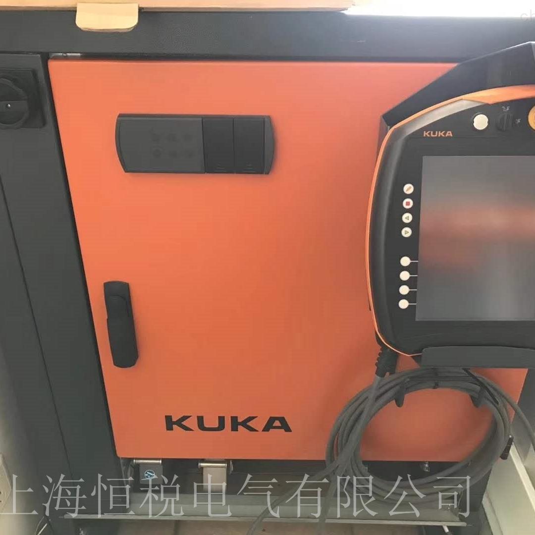 KUKA机器人示教器开机走一半不动维修电话