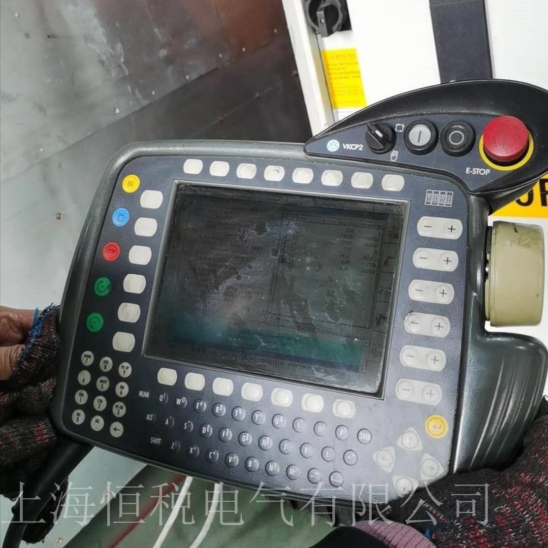 KUKA机器人示教器开机无反应解决维修专家