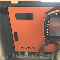 KUKA机器人触摸屏开机白屏状态维修电话