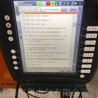 KUKA机器人触摸屏开机显示蓝屏厂家维修电话