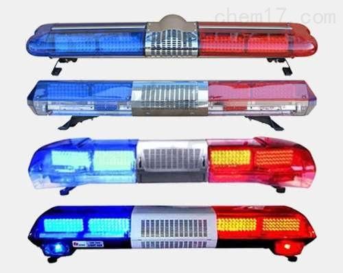 车顶治安巡逻长排警示灯