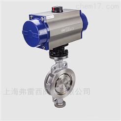 自动化硬密封蝶阀 可用于水蒸汽油品等介质