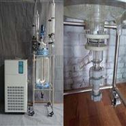 低温聚合双层玻璃反应釜报价