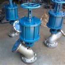 横式手动带气动放料阀一年保修质量保证