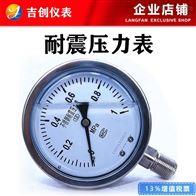 耐震压力表厂家价格 0-1.6MPa 304 316L