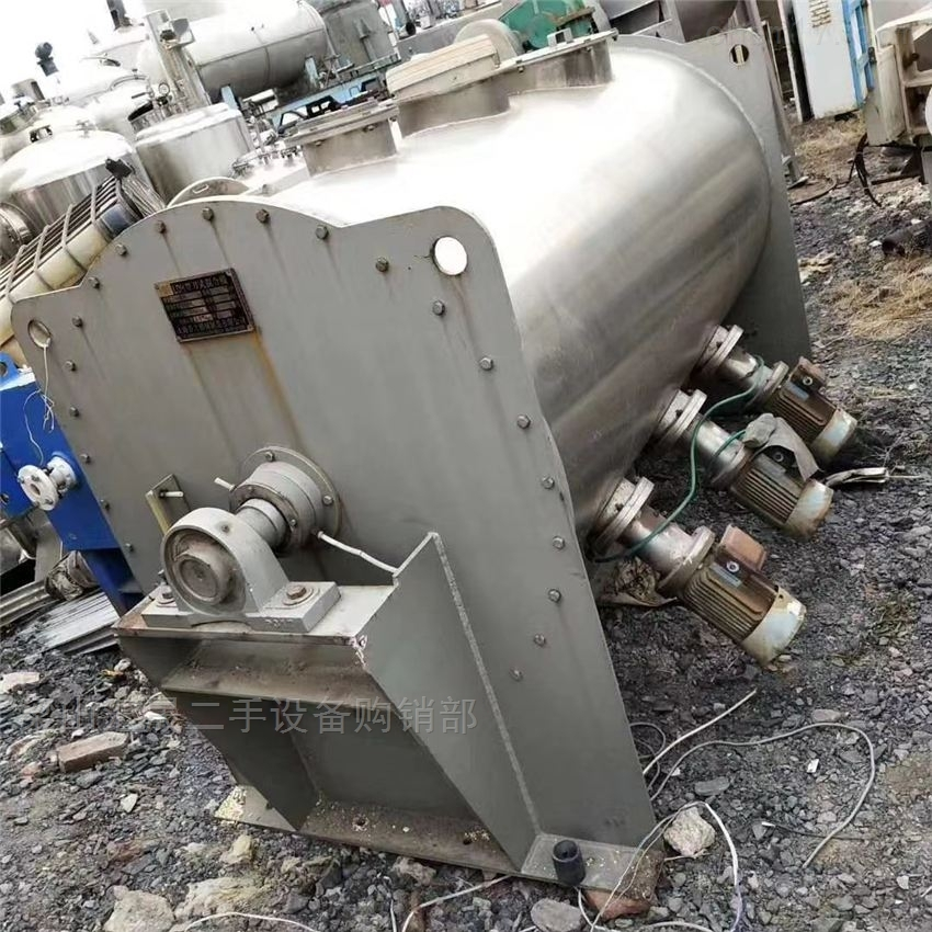 天津市二手钛材混合机收购