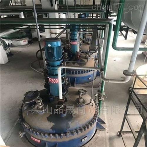二手3吨钛材蒸馏釜