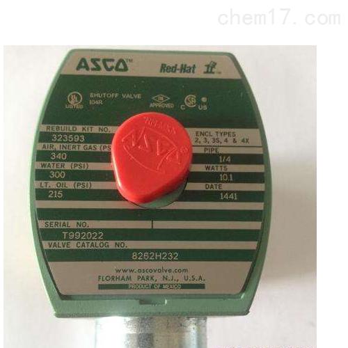美国阿斯卡ASCO电磁阀VCEFBM8316G082一级代理