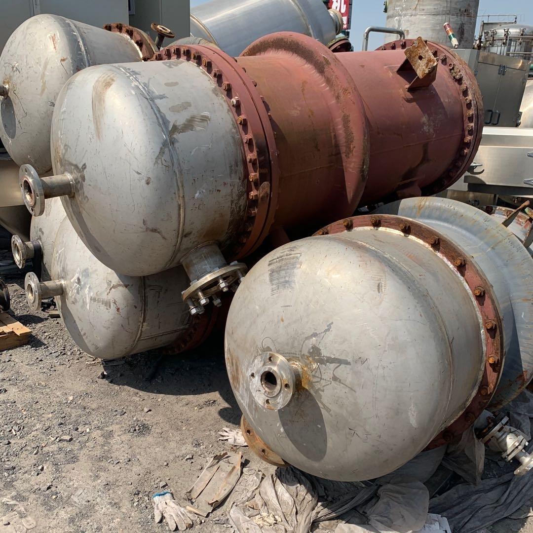 全面回收二手高压列管式冷凝器