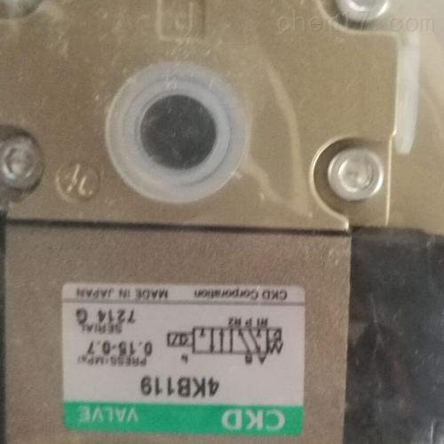 日本喜开理CKD手动换向阀