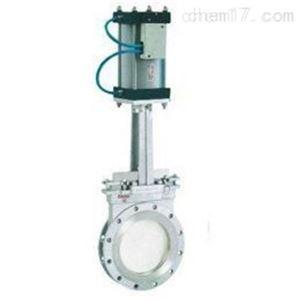 手动帯气动刀型闸阀PZ673F