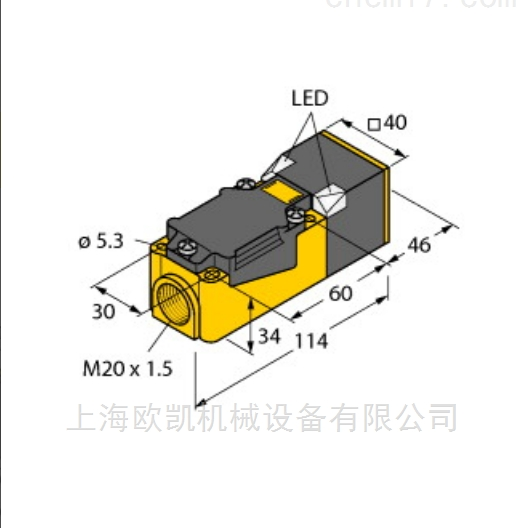 德国Turck图尔克电量传感器NI35-CP40-FZ3X2