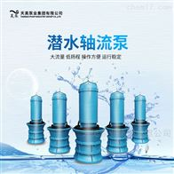 梅州泵房改造用1200QZB潜水轴流泵浮筒安装