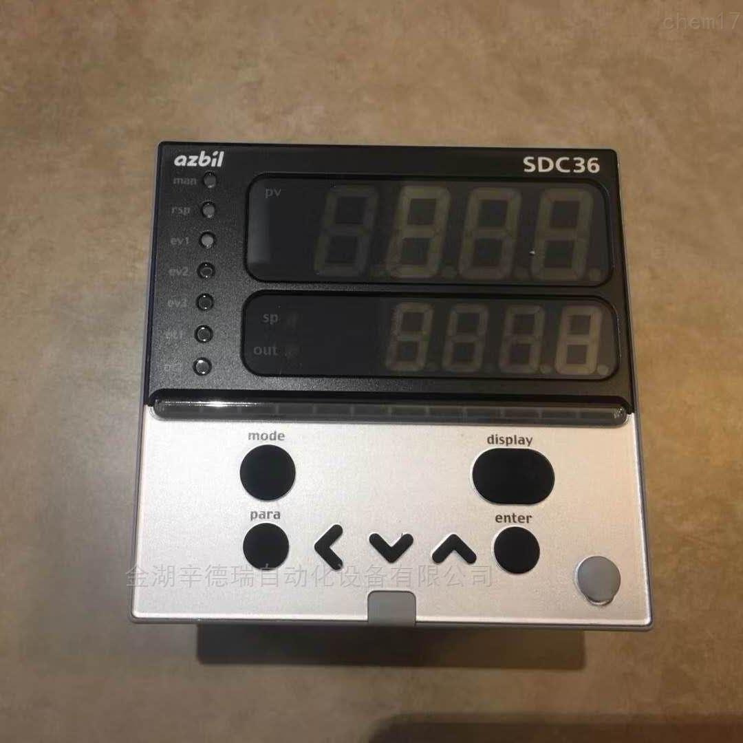 日本azbil山武温控器原装正品