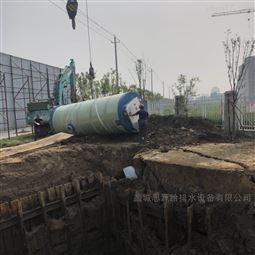 河南郑州玻璃钢一体化预制泵站  厂家定制