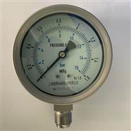 Y-100B不锈钢压力表