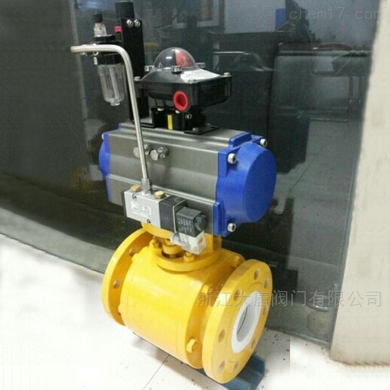 定位器气动陶瓷球阀