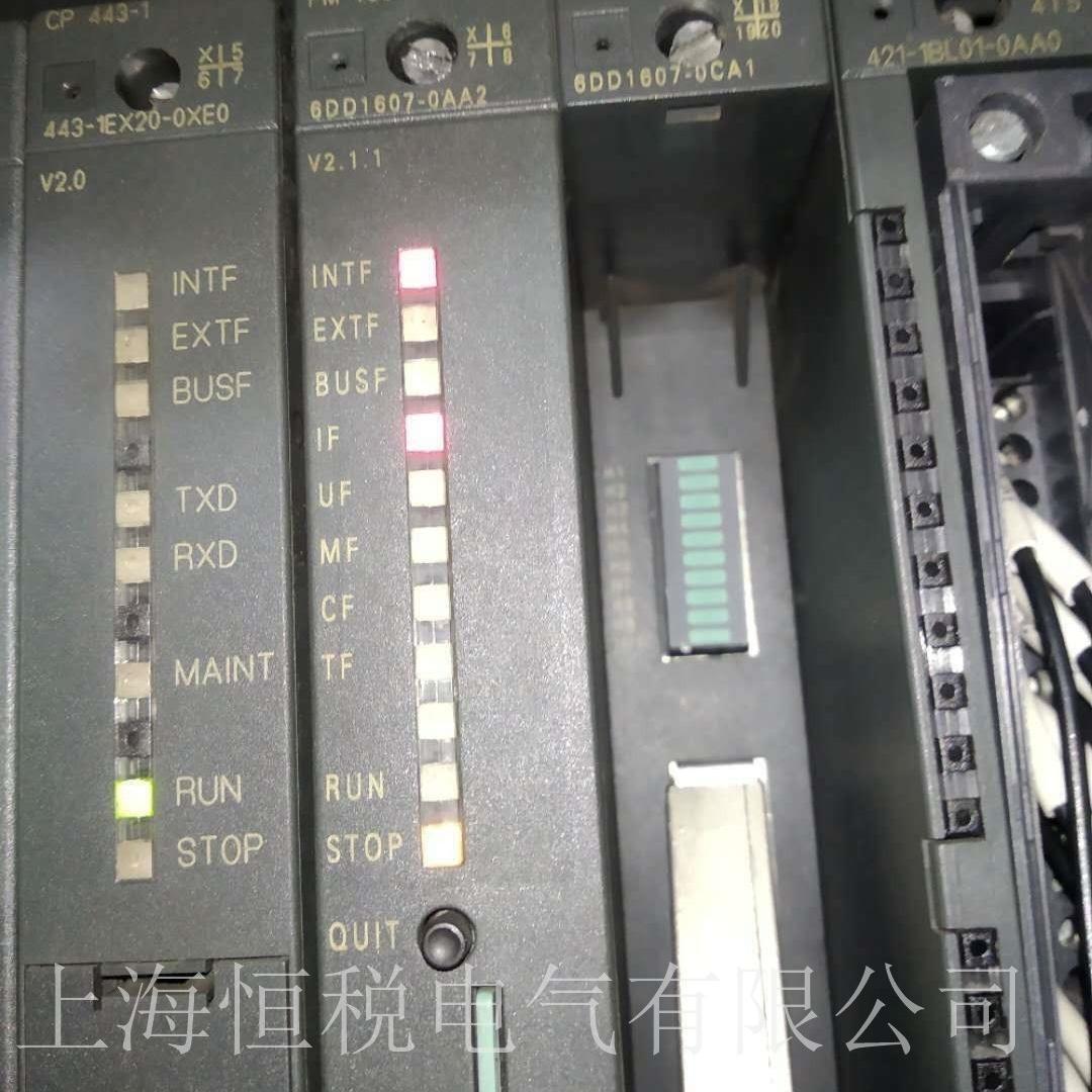 西门子模块6DD1607通电启动无反应修复解决