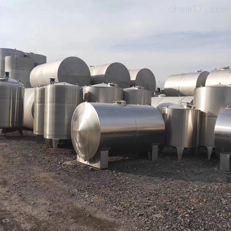 二手3吨不锈钢储罐现货供应