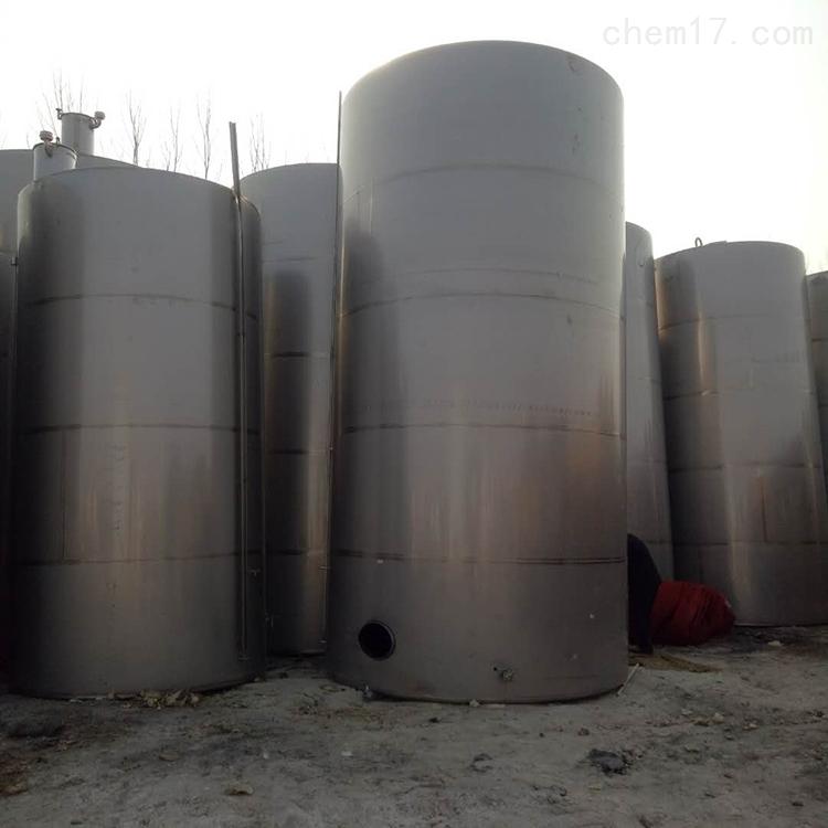二手20吨不锈钢搅拌罐量大从优