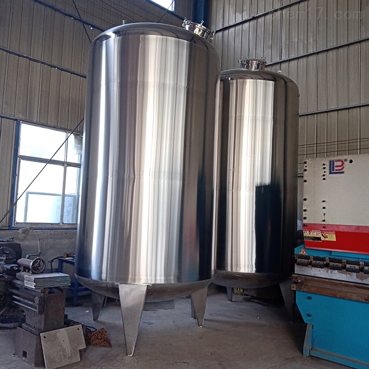 二手不锈钢单层封闭式储罐质量可靠