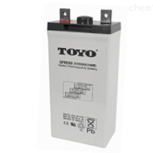 东洋蓄电池GFM 2V180免维护