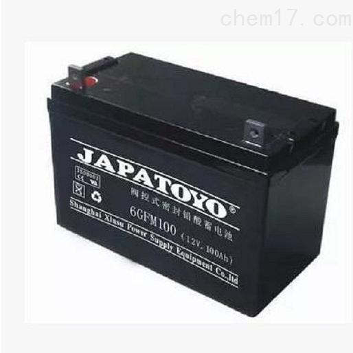 东洋蓄电池6GFM100免维护