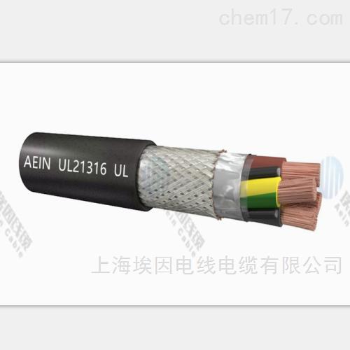 多芯TPU美标聚氨酯1000V屏蔽电缆