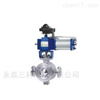 ZSS/HVT气动v型夹套保温球阀