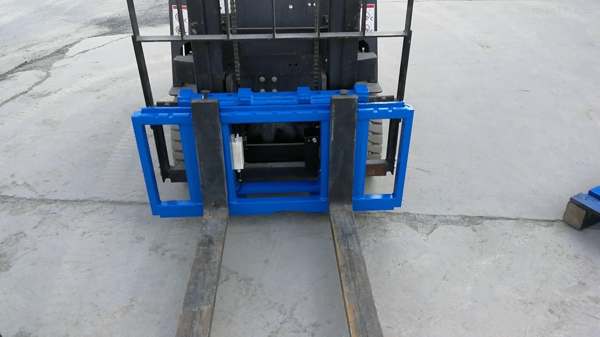 林德叉车改装高精度电子秤及加装称重系统